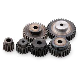 1.5 Mod 12T-35T 45# Steel Spur Gear Common Bore 5 6 8mm With