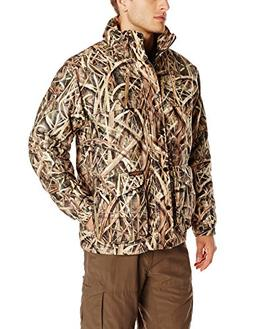 Yukon Gear Men's 3-in-1 Insulated Parka, Shadow Grass Blades