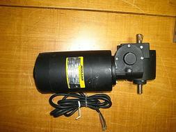 Baldor 100V DC Right Angle Gear Motor GearMotor 225:1, 20 RP