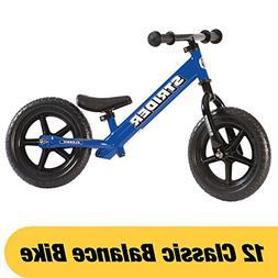 Strider 12 Classic No-Pedal Balance Bike - Blue