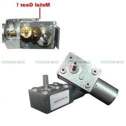 12V 10rpm High Torque Turbo Worm Geared JGY370 Gear Motor fo