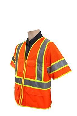 Brite Safety Style 1315 | Heavy Duty Multi-Pocket Reflective