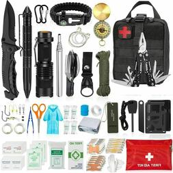150 in1 Survival Outdoor Kits Military Tactical EDC Emergenc