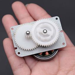 1PCS DC Brushless Motor Double Plastic Gear Ratio 1:9 For Hand-crank Generator