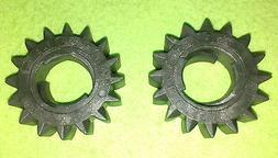 2 - Briggs & Stratton Starter Gear Plastic 16 Tooth 280104S