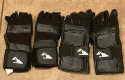 2 SETS - Hillbilly Wrist Guard Glove - Full Finger Set & Hal