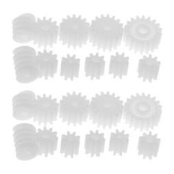 22pcs Assorted Plastic Gears Worm Toys Motor Set for DIY RC