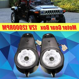 12V 23000 RPM Electric Motor Gear Box For Kids Ride On Car B