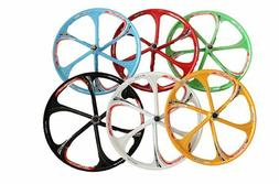 "26"" MTB Mountain Bike Mag Wheel Set Magnesium Rims Disc Brak"