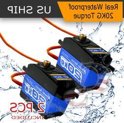2X K5 Waterproof High Torque Metal Gear RC Servo motor airpl