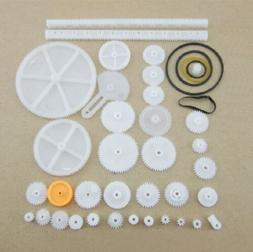 34 Kinds Plastic Shaft Rack Reduction Worm Gears Belt Pulley