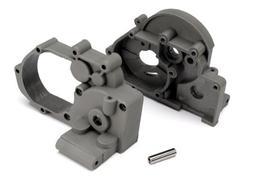 3691A Gearbox Lt/Rt w/Idler Gear Shaft Gray TRAC3691