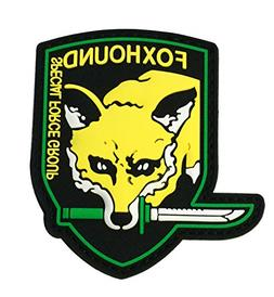 Metal Gear Solid 3D Foxhound Emblem Patch