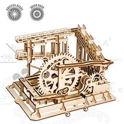 ROKR 3D Wooden Puzzle Mechanical Gears Set DIY Assembly Mode