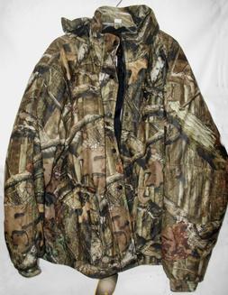 Yukon Gear Men's Mossy Oak 3N1 Insulated Parka Jacket, Mossy