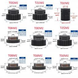 45# Steel Spur Gear With Step 1M10T-80T Metal Mod 1 Motor Ge