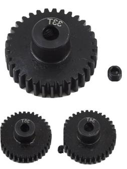 48 Pitch 48P Pinion Gear Set 33T 34T 35T For Traxxas 1/10 RC