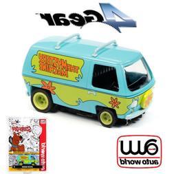 Auto World 4Gear The Mystery Machine - Scooby Doo HO Scale S