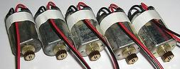 5 X Canon DN22 Electric Motor w Gear - Hobby Train Toy Model