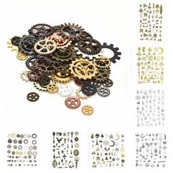 50g Vintage Charms Pendants Mixed Styles For Jewelry DIY Mak