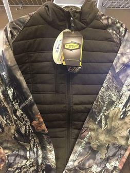 5581 Men's Yukon Gear Mossy Oak Layering System Jacket Mediu