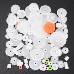 64 Kinds Plastic Shaft Single Double Layer Crown Worm <font>