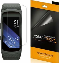 6X Supershieldz for Samsung Gear Fit 2 Pro Clear Full Covera