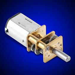 6V Gear Motor High Torque 1:1000 For Toy Car Model Reduction