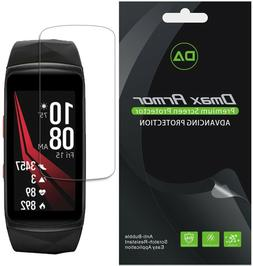 6x Dmax Armor for Samsung Gear Fit 2 Pro Full Cover Clear Sc