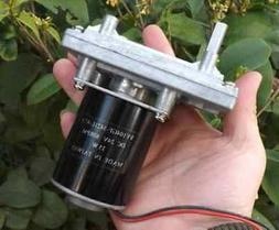 7 type dc gearmotor metal gear front