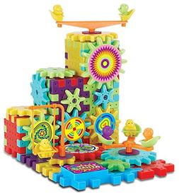 81 Piece Funny Bricks Gear Building Toy Set - Interlocking L