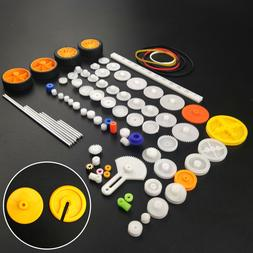 82 pcs Plastic Gear Package Kit DIY Gear Assortment accessor