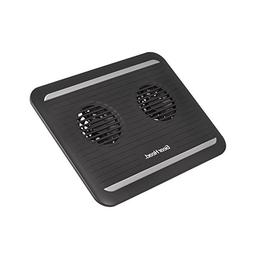 Gear Head USB Dual-Cool Notebook Cooling Pad - Black/Grey