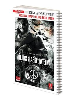 Metal Gear Solid Peace Walker: Prima Official Essential Guid