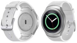 NEW INBOX Samsung Gear S2 SM-R730A 4G WHITE Smartwatch Unloc