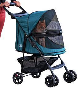 Pet Gear No-Zip Happy Trails Pet Stroller for Cats/Dogs, Zip