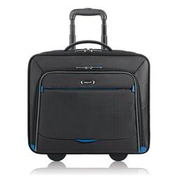 Solo Active 16 Inch Rolling Overnighter Case with Padded Lap