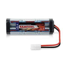 Tenergy 7.2V Battery Pack for RC Car, High Capacity 6-Cell 3