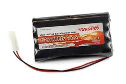 Tenergy 9.6V Flat NiMH Battery Packs for RC Car, High Capa
