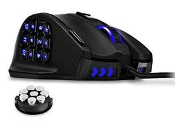 UtechSmart Venus 16400 DPI High Precision Laser MMO Gaming M