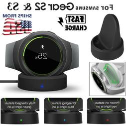 Wireless Stand Charging Charger Dock for Samsung Gear S2 S3