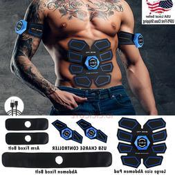 ABS Stimulator Abdominal Muscle Trainer AB Toner Belt EMS Mu