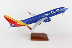 """Airplane Southwest Airlines Boeing 737-800 New Livery 15.4"""""""