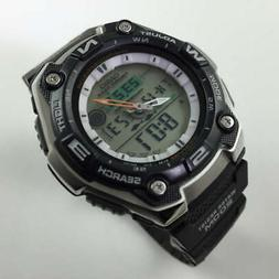 Casio Men's AQW101-1AVCF Active Dial Multi-Task Gear Sport W