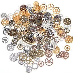 Assorted Vintage Metal Cog Watch Wheel Steampunk Gothic Gear