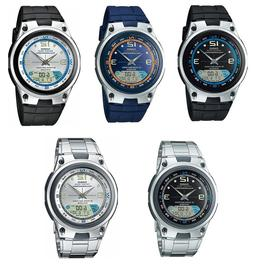 Casio AW82 AW82D  Men's Fishing Gear Analog Digital Alarm Ch