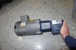 Baldor VM35534  3 phase motor with Ironman W8130050-00 gear