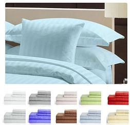 Lux Decor Collection Bed Sheet Set - Brushed Microfiber 1800