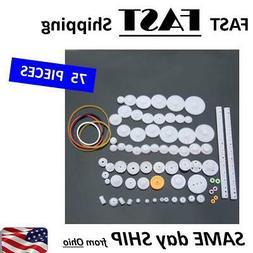 BULK pack plastic gears / worm hears - Mechanical Engineerin