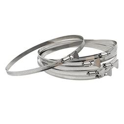 Butterfly Hose Clamp for 8 Inch ID Hose, Penck 304 Stainless